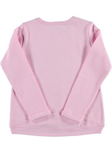 012 Benetton Sweatshirt Pembe